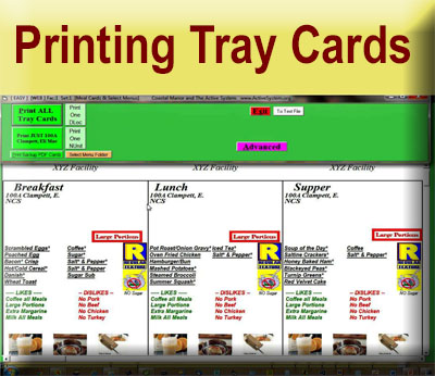 Click for Printing Tray Cards Video